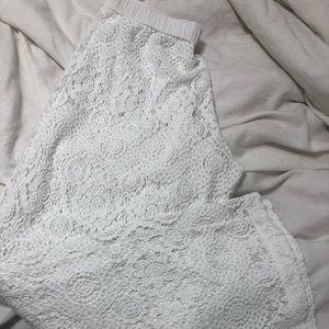 Michael Kors Lace Coverup Pants